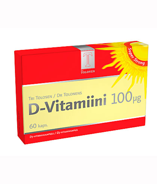 82da5c601 Tri Tolonen D-vitamiini 100 mcg 60 kaps