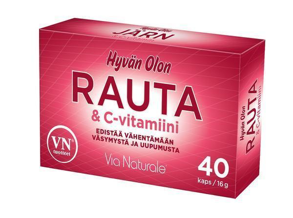 c vitamin och järn