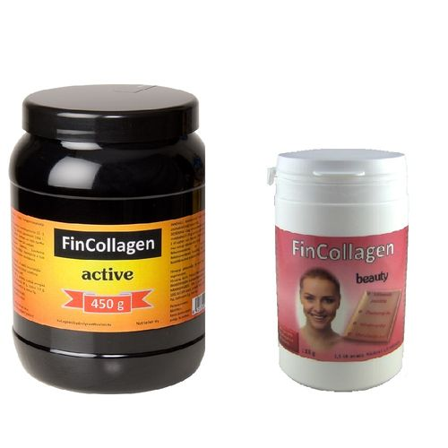 FinCollagen Active 450 g + FinCollagen Beauty 113 g