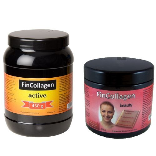 FinCollagen Active 450 g + FinCollagen Beauty 225 g