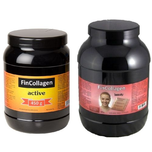 FinCollagen Active 450 g + FinCollagen Beauty 900 g