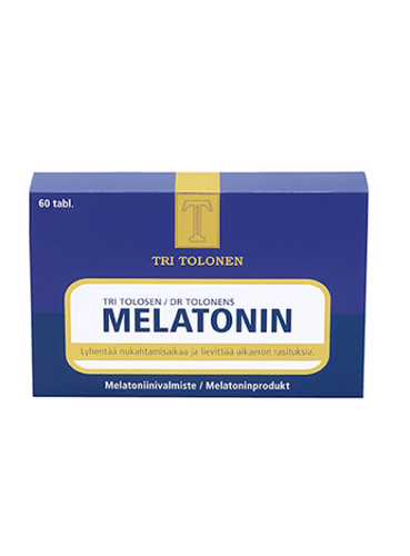 Melatoniini 1 mg 60 tabl