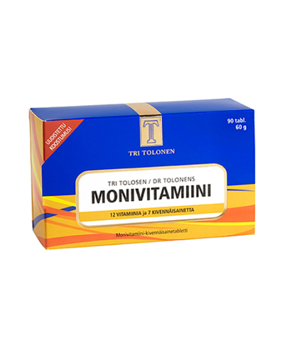 Monivitamiini 90 tabl