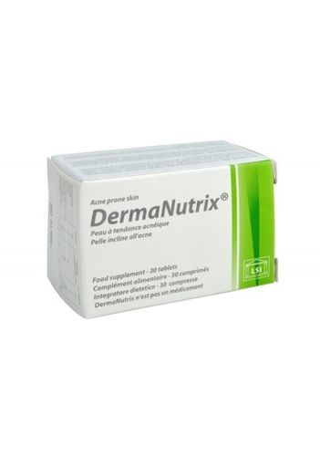 Dermanutrix Acne Prone Skin 30 tablets