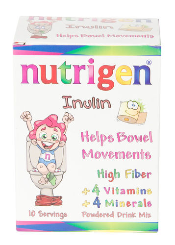 Nutrigen Inulin for kids' normal bowel function 10 dose packs