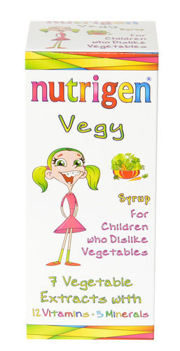 Nutrigen Vegy syrup vegetable extract combination with vitamins and minerals 200 ml