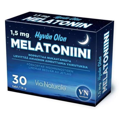 Melatonin 1,5 mg 30 tablets