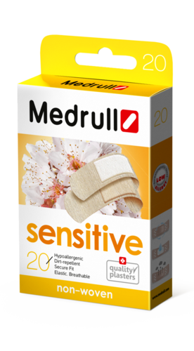 Medrull Sensitive laastari 20 kpl