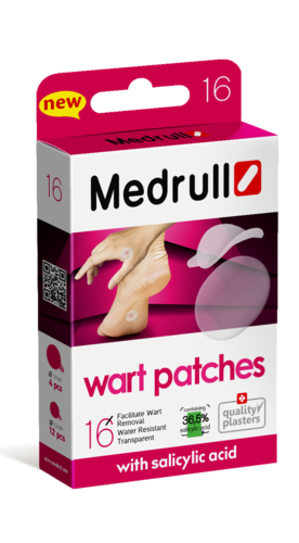 Medrull Wart Patches бородавка пластырь 16 шт.